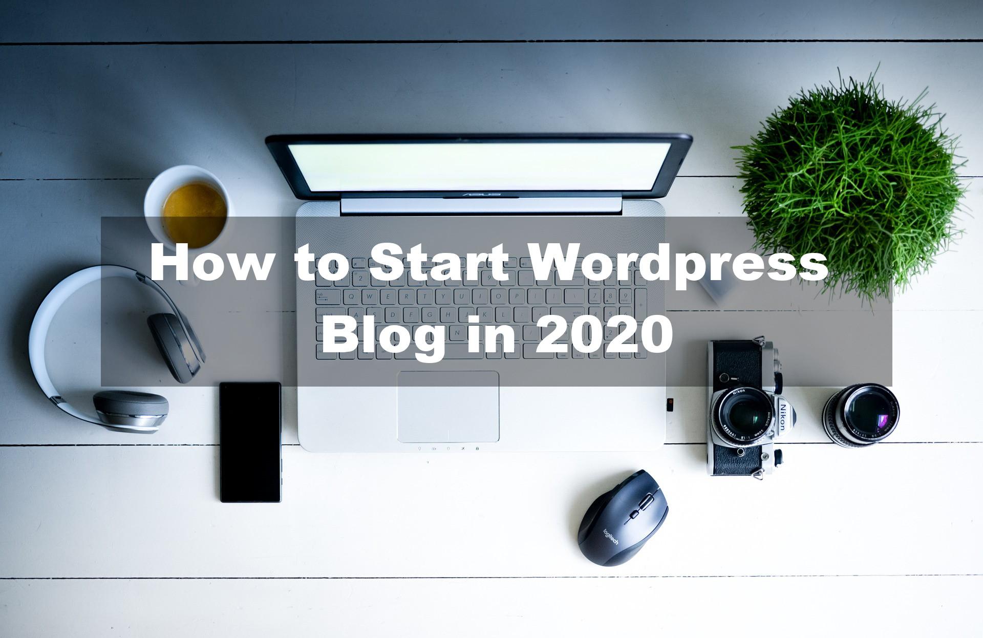 how to start wordpress blog